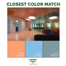 a palette of bright pastel colors saturated with light technology
