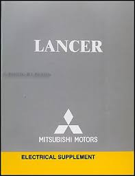 2006 mitsubishi lancer wiring diagram manual original