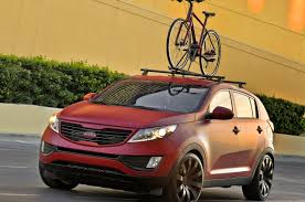 2013 Kia Sportage Roof Rack by 2010 Sema Show Kia Unveils Two Customized Sportage Concepts