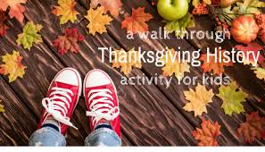 thanksgiving history activity for