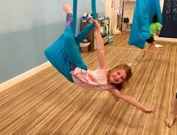 aerial yoga hammock for kids sensory swing