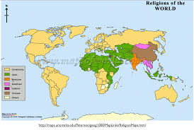 World Map To Scale by The Pitfalls And Promises Of Mapping World Religion Geocurrents