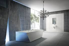bathroom stunning eclectic bathroom design glossy white marble