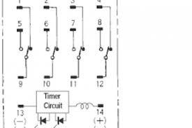 14 pin relay wiring diagram wiring diagram