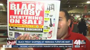 furniture black friday sales kansas city shoppers flock to deals at nebraska furniture mart on