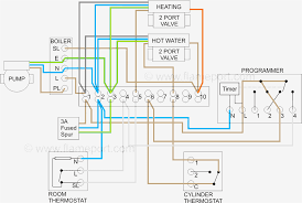 generous wiring diagram for central heating system ideas