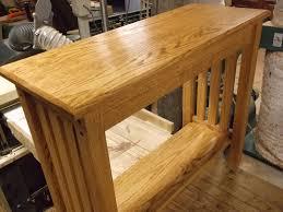 Narrow Sofa Table Sofa Table Design Mission Style Sofa Table Awesome Classic Design