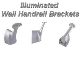 Banister Brackets Illuminated Wall Handrail Handrail Bracket Lights