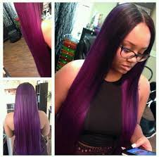 black women with purple hair 40 chicest sew in hairstyles for black women