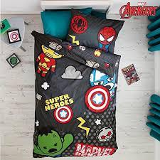 Childrens Single Duvet Covers Marvel Avengers Kawaii Tokyo Single Duvet Set Quilt Cover