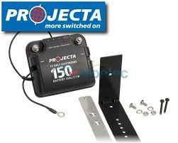 projecta 150 150a electronic dual battery isolator 12v 12 volt