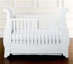 White Convertible Baby Crib Marlowe Sleigh Ba Crib For Baby Crib White Ideas Dwfields