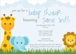 safari baby shower invitations templates invitations ideas