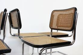 Marcel Breuer Chairs Chair Marcel Breuer Chairs B32 Casca Model By Thonet 1960 Set Of 6