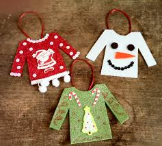 diy ugly christmas sweater ornaments ptpa