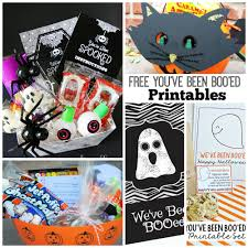 halloween gift ideas for coworkers free you u0027ve been boo u0027ed printables skip to my lou