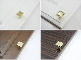 25mm k9 crystal glass gold cabinet knobs door drawer handle