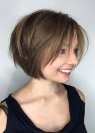 bob with bangs hairstyles for overweight women layered bob hairstyles 2017 from bangs to choppy styles we ve