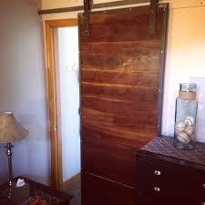 Steel Barn Door by Hand Crafted Industrial Steel And Black Walnut Sliding Barn Door