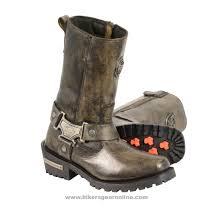 waterproof leather motorcycle boots women u0027s distressed brown motorcycle boots genuine leather