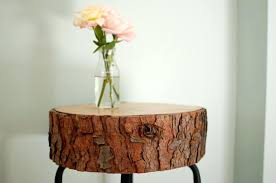 wood slice end table table made out of tree slice wood slice end table table made from