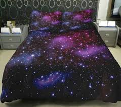 Space Bed Set Anlye Galaxy Quilt Cover 3d Printing Galaxy