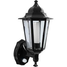 outdoor led photocell lights p lux 8w led photocell pir coach lantern black