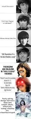 The Beatles Meme - guide to quality content on r beatles beatles