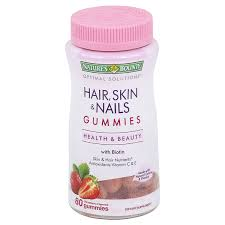 natures bounty optimal solutions hair skin u0026 nails gummies 80 ct