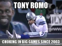 Funny Tony Romo Memes - tony romo both most overrated and underrated qb the debate says