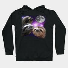 Three Wolf Shirt Meme - sloth shirt three wolves moon parody meme shirt three wolf moon