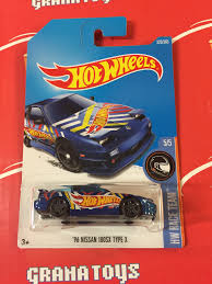 nissan hotwheels 96 nissan 180sx type x 225 2017 wheels case k new 1 grana