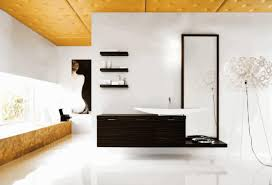 mosaic bathroom tile ideas modern bathroom interior design ideas black stainless steel handle