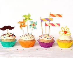 cupcake toppers trendy cupcake toppers
