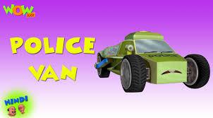 police van u2013 motu patlu in hindi u2013 3d animation cartoon for kids