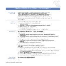 maintenance sample resume sample resume for oil field worker 8