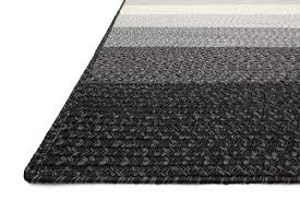Black Outdoor Rugs Modern Black Gray Striped Outdoor Rug Woodwaves