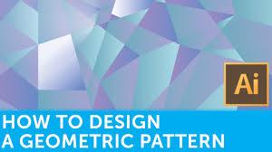 flat design tutorials how to design a geometric pattern in adobe