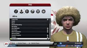 fifa 14 all hairstyles how to unlock afro hairstyles in fifa 14 hair