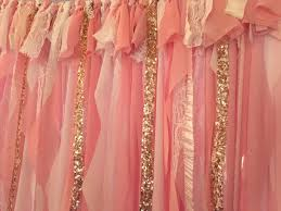 White And Pink Nursery Curtains Pink And Gold Birthday Pink And Gold Birthday Banner Pink And