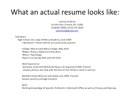 Computer Resume Computer Literacy How To Write A Resume