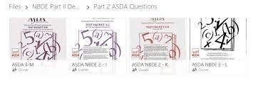 asda nbde part 2 released exams j k l m u0026 n pdf ebay