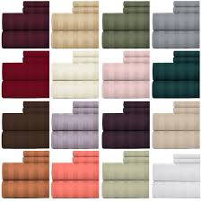 Hotel Quality Sheets Weavely Bedsheet 100 Cotton 600 Thread Count Damask Stripe King