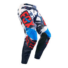 rockstar energy motocross gear fox racing 2016 180 vicious pants blue white available at