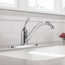 delta single handle kitchen faucet faucets kitchen indoor