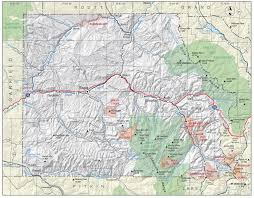 Colorado County Map by Eagle County Colorado Geological Survey