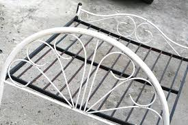 Iron Frame Beds by How To Paint A Metal Bed Frame With Pictures Wikihow