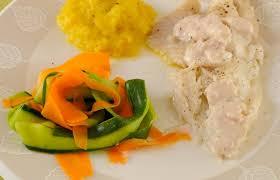 cuisiner vapeur recette poisson de cabillaud au cuit vapeur à la carotte