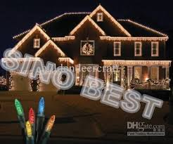 Outdoor Icicle Lights Outdoor 110 Led Icicle Lights Lighting