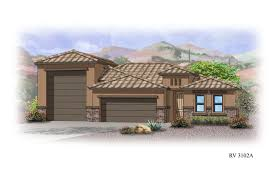 Home Plans With Rv Garage by Elliott Homes Plan 3102 At Las Barrancas Elevations